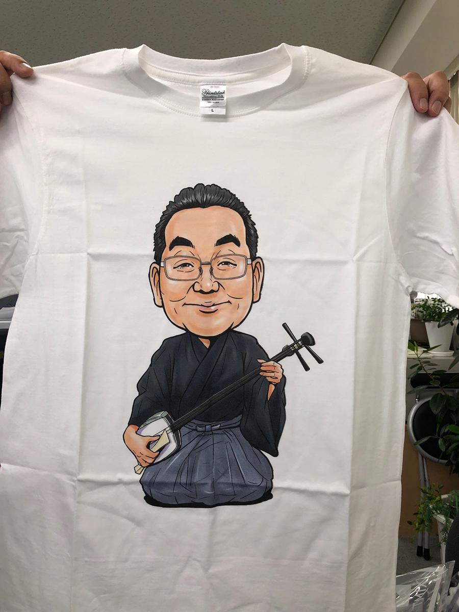 似顔絵Tシャツ