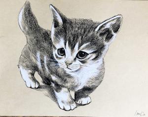 子猫イラスト