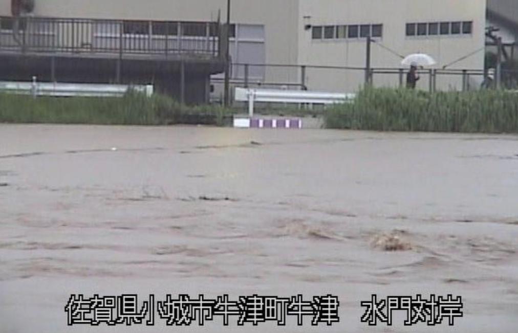九州洪水警報