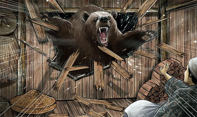 熊イラスト サンプル